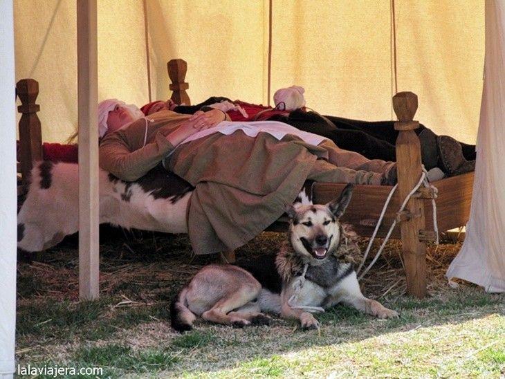Campamento de La Fontanilla, Feria Medieval del Descubrimiento, Palos de la Frontera, Huelva