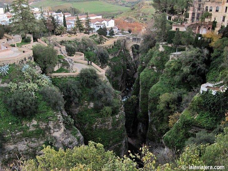 Jardines de Cuenca y Puente Viejo de Ronda