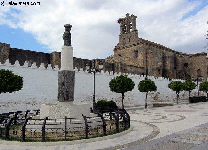 Lugares Colombinos: Monasterio de Santa Clara, en Moguer
