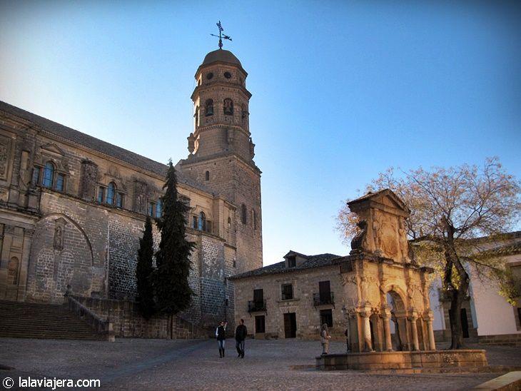 Plaza de Santa María, en Baeza