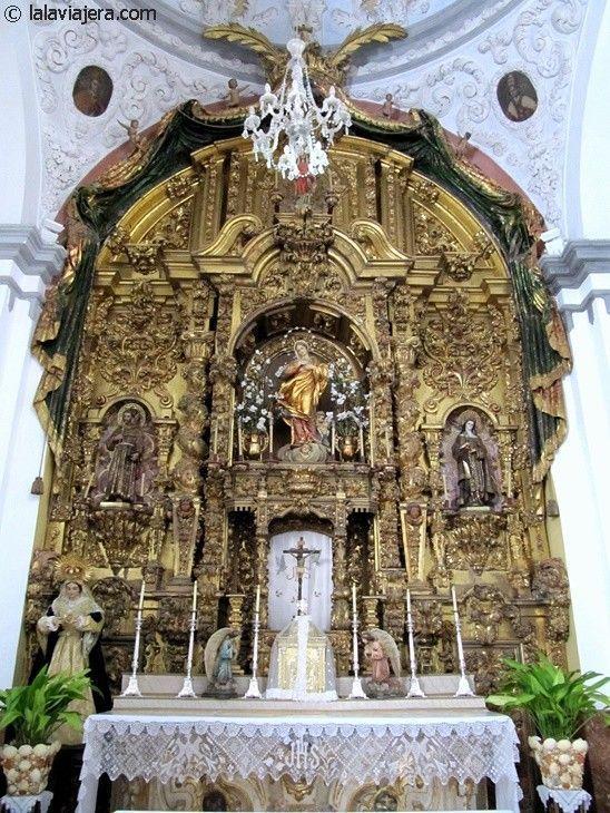 Retablo del Convento de Santa Isabel de Los Ángeles, Ronda