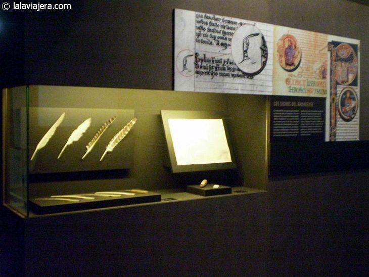 Exposición sobre la historia del libro en el Centro E-Lea de Urueña