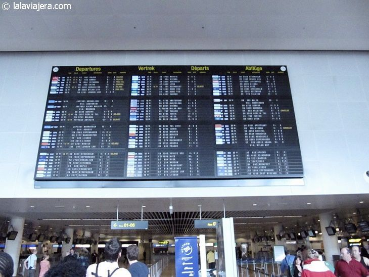 Aeropuerto Zaventem de Bruselas