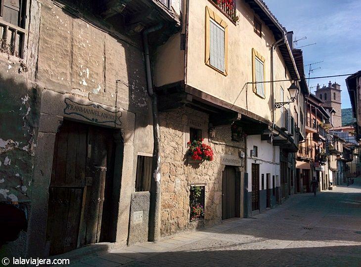 Calle Chorrillo en Garganta la Olla