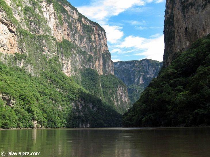 El Cañón del Sumidero, emblema de Chiapas