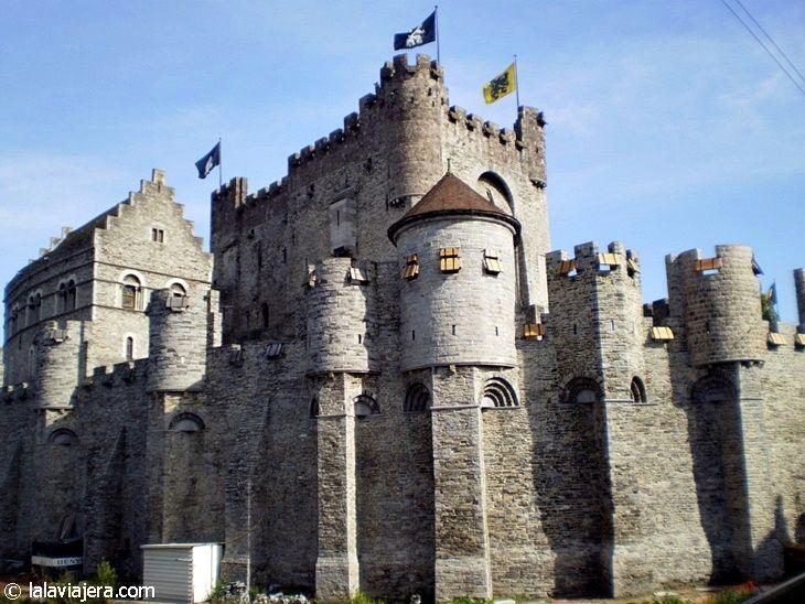 Castillo de los Condes de Flandes, en Gante