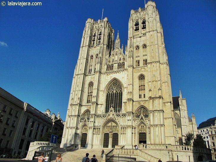 Catedral de San Miguel y Santa Gúdula, en Bruselas