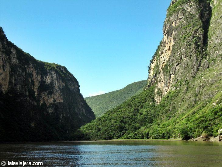 El Cañón del Sumidero, naturaleza en estado puro
