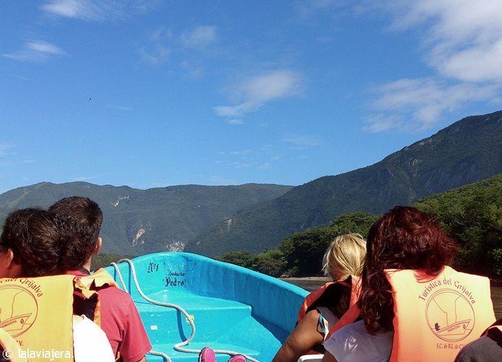 Excursión en lancha por el Cañón del Sumidero