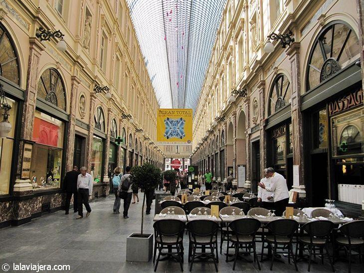 Galerías Saint Hubert, en Bruselas