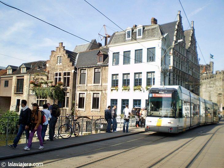 Tranvía en Gante