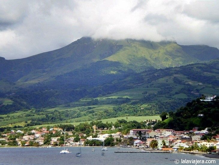 Parque Natural Montagne Pelée y Pitón Le Carbet, Martinica