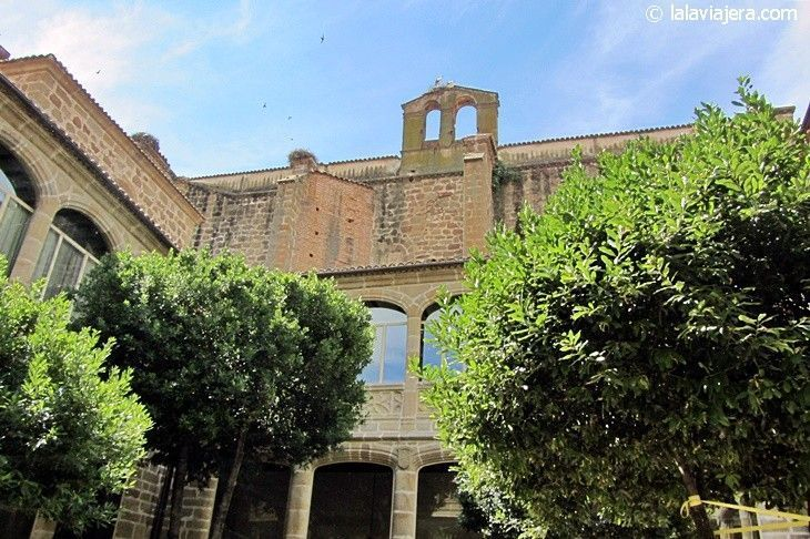 Convento de Santo Domingo, hoy Parador de Plasencia