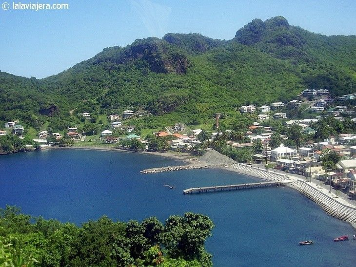 Caribe en estado puro en la isla de Saint Vincent