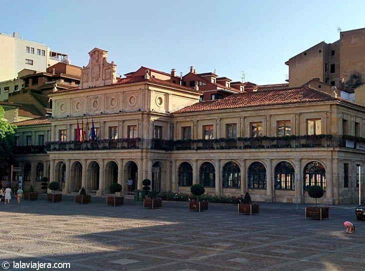 Antiguo Consistorio de León, en la Plaza de San Marcelo