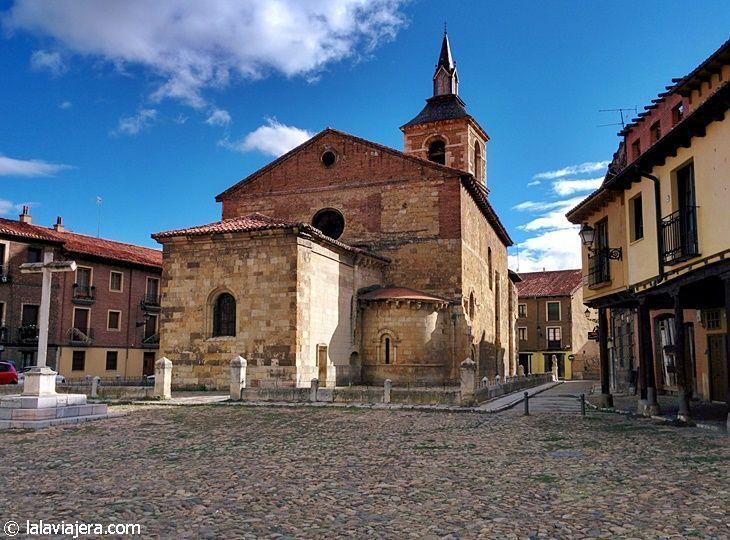 Iglesia del Mercado en la Plaza del Grano de León