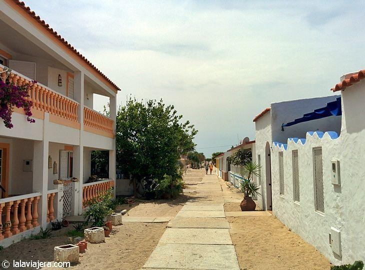 Calles de Isla Culatra, Algarve