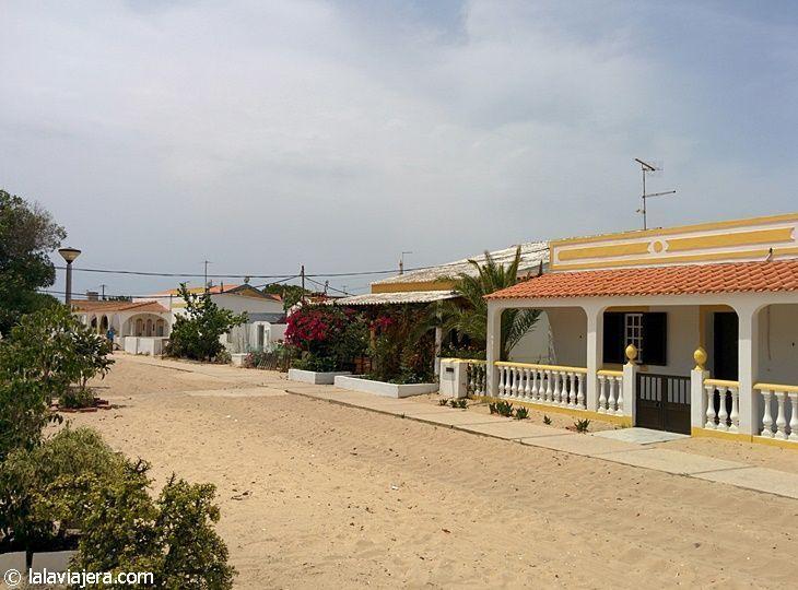 Calles de la Isla de Culatra, Algarve