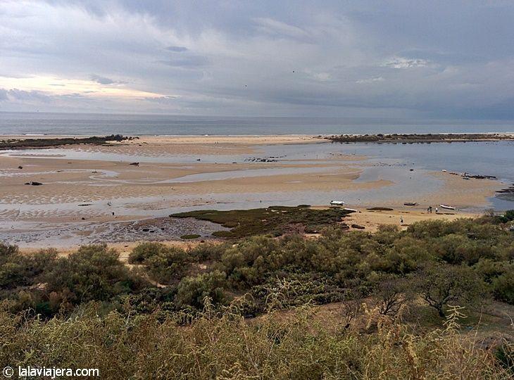 Parque Natural de la Ría Formosa, en el Algarve portugués