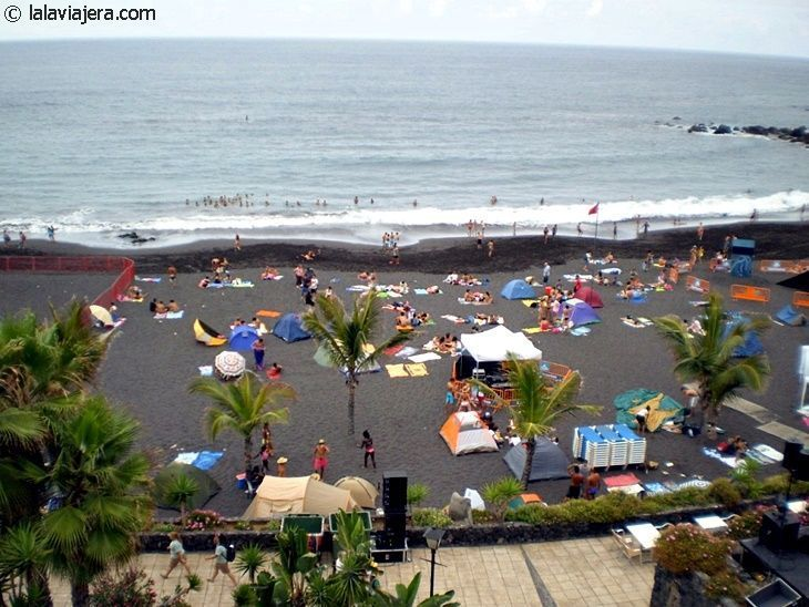 Playa Jardín (Puerto de la Cruz, Tenerife)