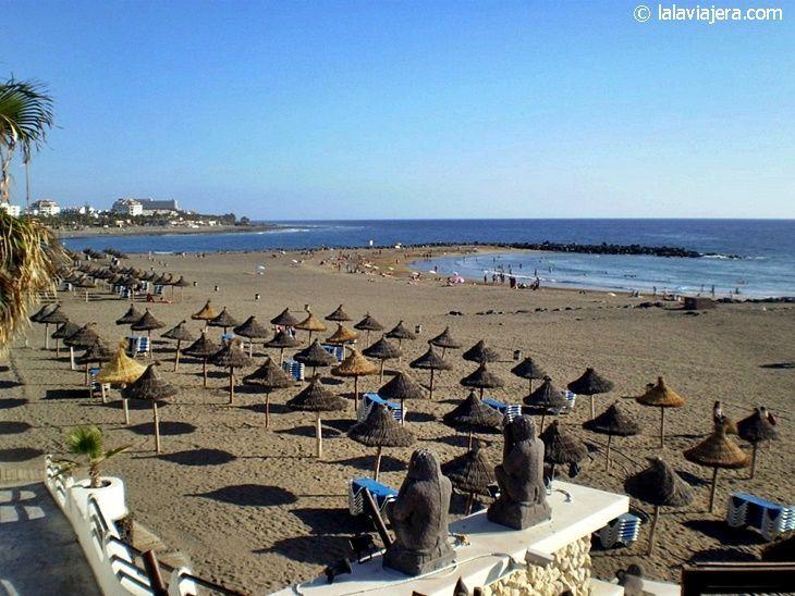 Las mejores playas de Tenerife: Playa de Troya (Las Américas)