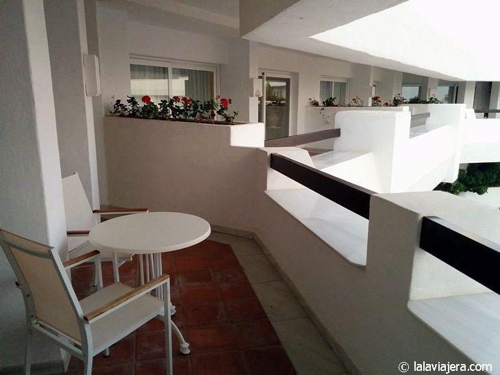 Terraza con vistas (hotel Iberostar Marbella Coral Beach)