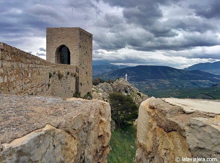 Mirador de la Cruz, junto al Castillo de Santa Catalina de Jaén