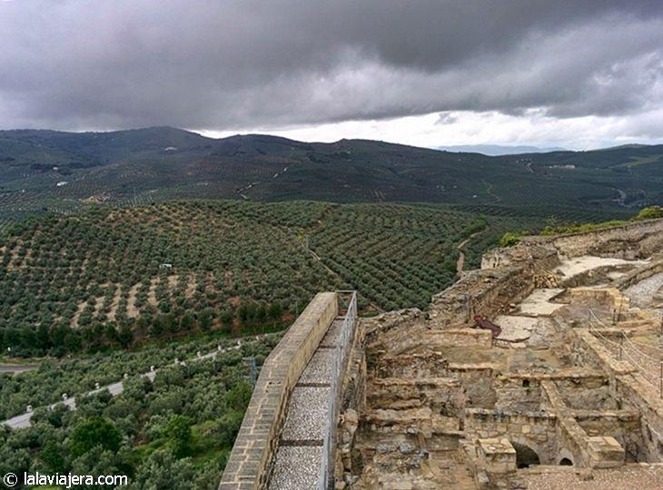 Vistas desde la Fortaleza de la Mota de Alcalá la Real, Jaén