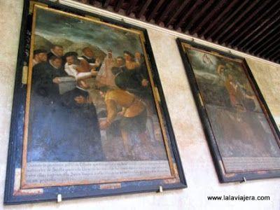 Lienzos Claustro Mudejar, Monasterio Guadalupe