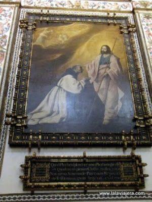 Cuadro Zurbaran, Sacristia Monasterio Guadalupe