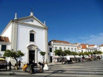 Iglesia Encarnacion, Plaza Marques de Pombal, Vila Real Santo Antonio