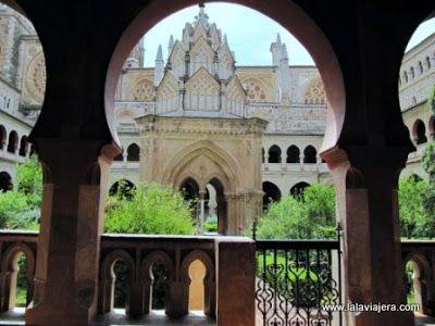 Templete Claustro Mudejar, Monasterio Guadalupe
