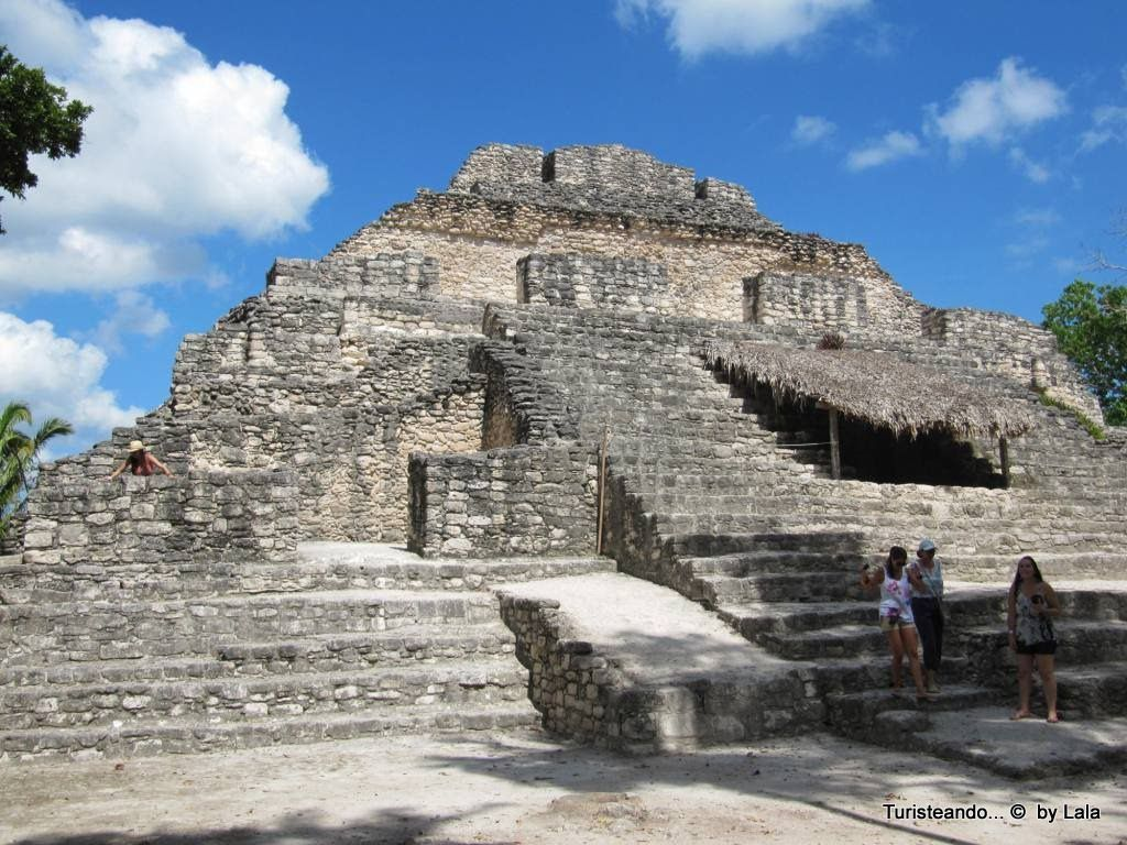 piramide chacchoben lugar maiz colorado
