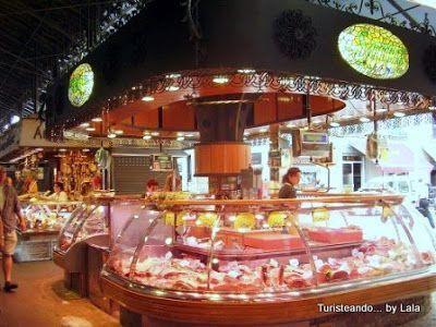 mercat sant josep, boqueria barcelona