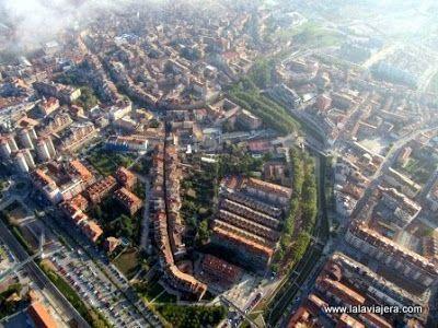 Vista Aerea Vic, Barcelona