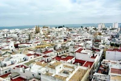 Panoramica Cadiz Desde Torre Tavira