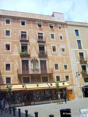 Plaza Pi, Barrio Gotico Barcelona