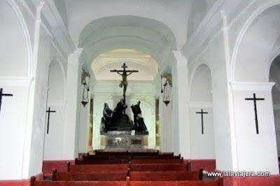 Calvario Capilla Pasion Oratorio Santa Cueva