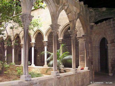 Claustro Iglesia Santa Ana, Barcelona