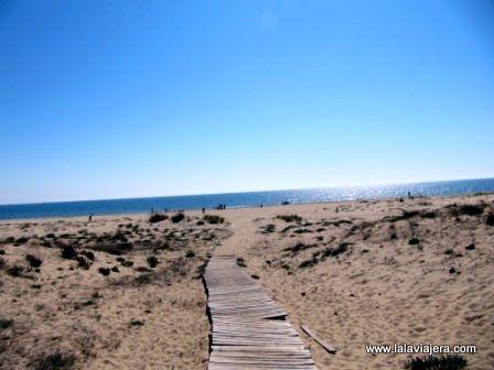 Playa Caminito Santana, Isla Cristina