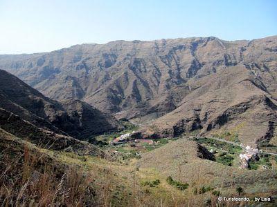 mirador lezcano, geografia de La Gomera