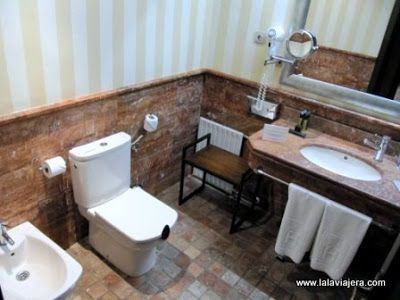 Baño Habitacion Hotel Rural Vinuela, Malaga