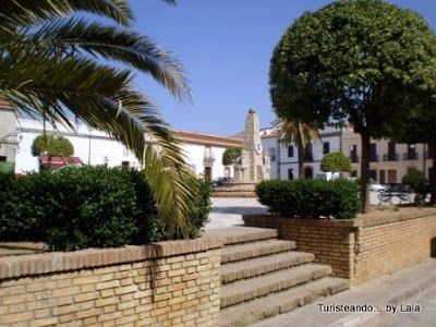 Plaza de Feria, Niebla, Huelva