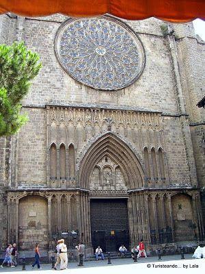 Iglesia del Pi, Barrio Gotico Barcelona
