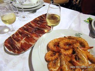 Langostinos Sanlucar Restaurante Poma