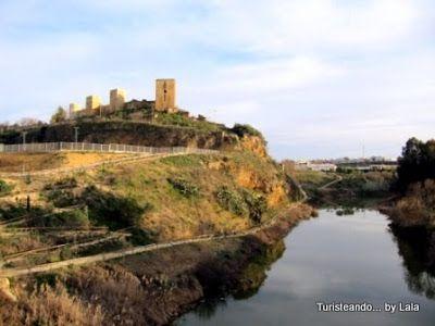 castillo y rio alcala de guadaira