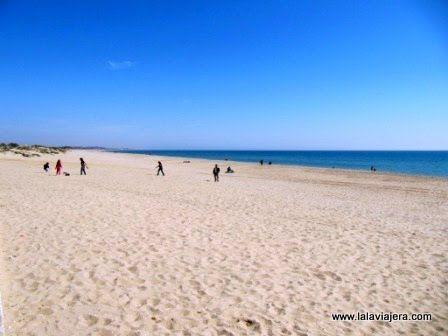 Playa Central, Isla Cristina