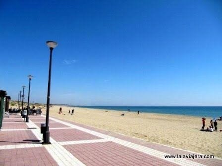 Paseo marítimo de Playa Central, Isla Cristina