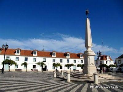 Plaza del Marques de Pombal, Jose I, Vila Real Santo Antonio