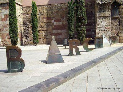 Murallas de Barcino, en Barcelona